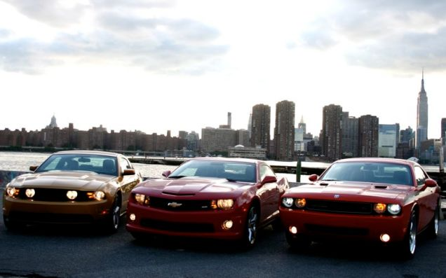 muscle car trio