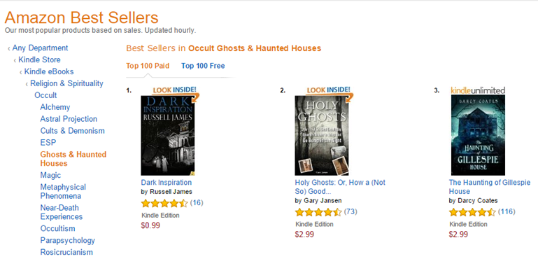Number 1 ghost story